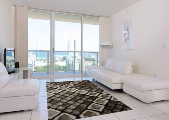 Thảm sofa lông xù